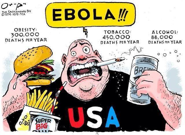 Deadly Ebola vs. Fear Mongering