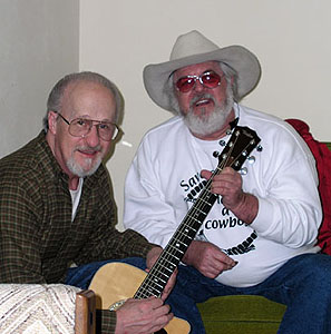 Jim Colegrove (left) and Teddy Grills (right), March 2006